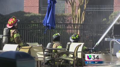 Incendio consume varias viviendas en Buford Highway