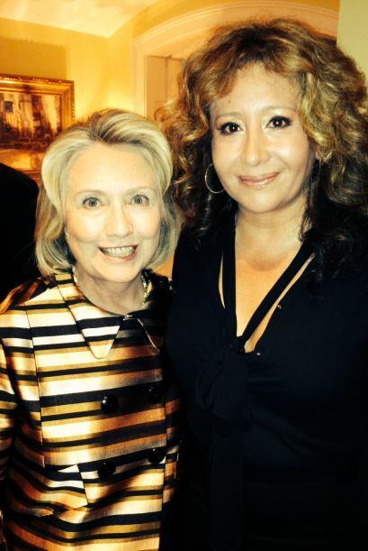 """""""Estuve con los Clinton y compartí momentos muy agradables, ya que fue u..."""