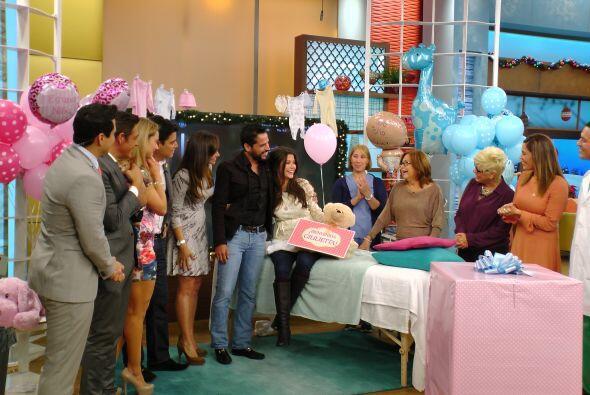 El sueño de Ana se hizo realidad. ¡Será niña y se llemará Giulietta!