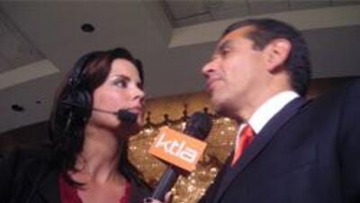 Villaraigosa escogio a otra reportera como novia: Lu Parker de la emisor...