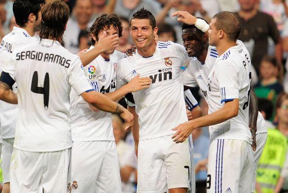 Cristiano Ronaldo tuvo su mejor año desde que llegó al club 'merengue'.