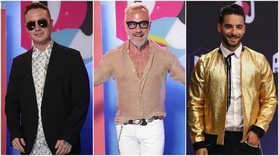 Ellos fueron los galanes de la alfombra de Premios Juventud.