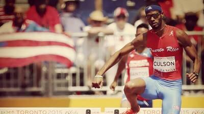 Medallista de plata panamericana en 400 metros con vallas.