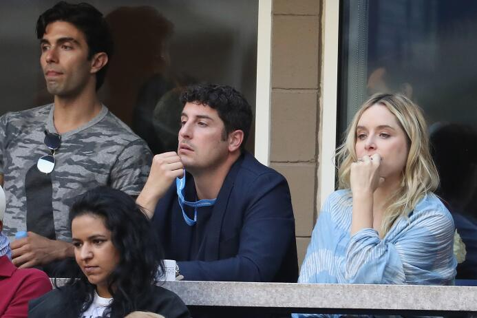 Rafael Nadal: Campeón del US Open Jason Biggs and Jenny Mollen.jpg
