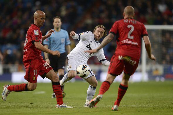 Modric fue el mejor del partido.