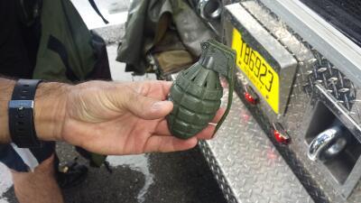 Reabren la I-95 tras encontrar granada de juguete