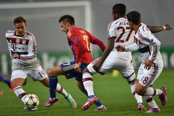 Ahora el Bayern Múnich visitará a la Roma.