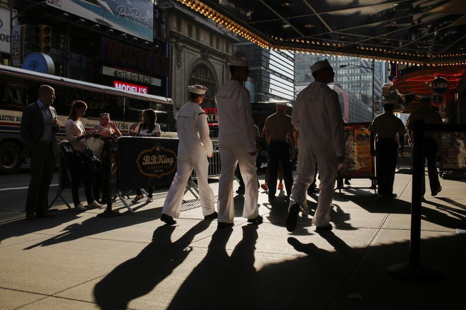 Hasta el lunes se celebra la Semana Naval en NYC.