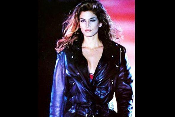 Cindy Crawford hizo historia en el mundo del modelaje en los 80s.