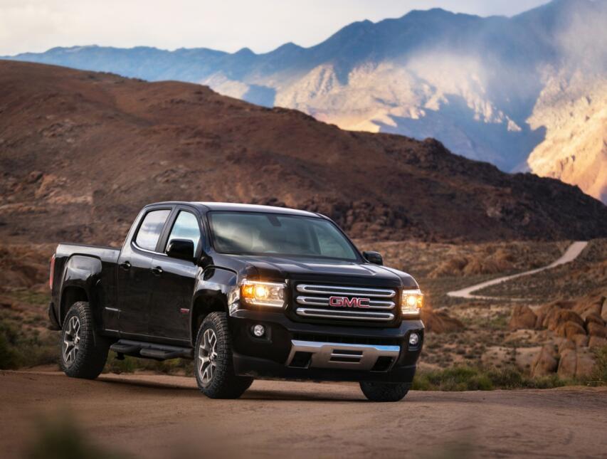 El modelo restante de GMC en el mercado de 2017 entre las pick ups es la...