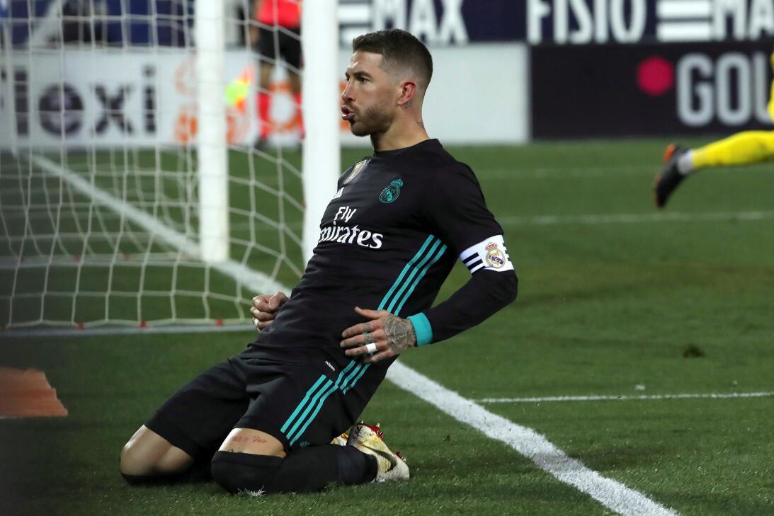 Real Madrid venció de visita 1-3 a Leganés y se pone de tercero en Españ...