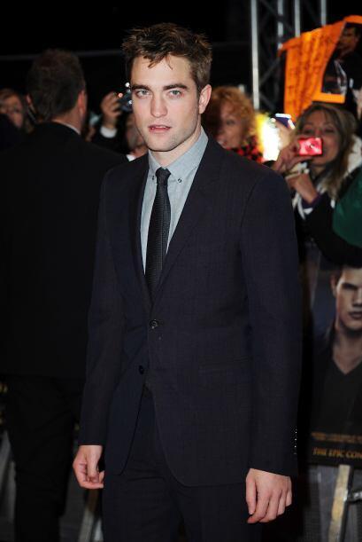 Asimismo, Robert Pattinson, una de las estrellas de la mega producción '...