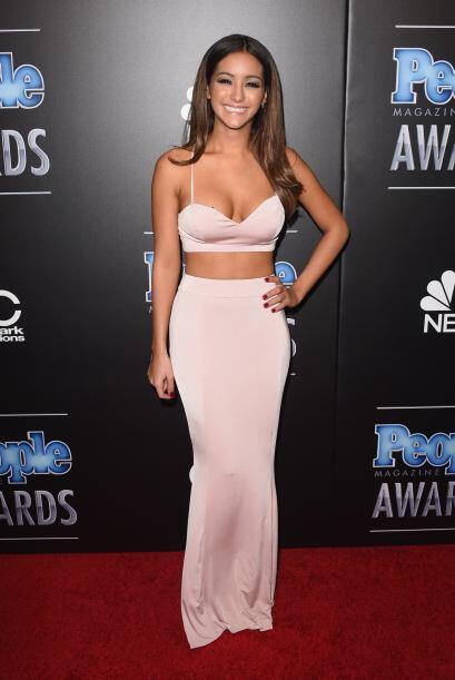 Aunque Melanie Iglesias lucía exquisita y sensual con ese modelito, segu...