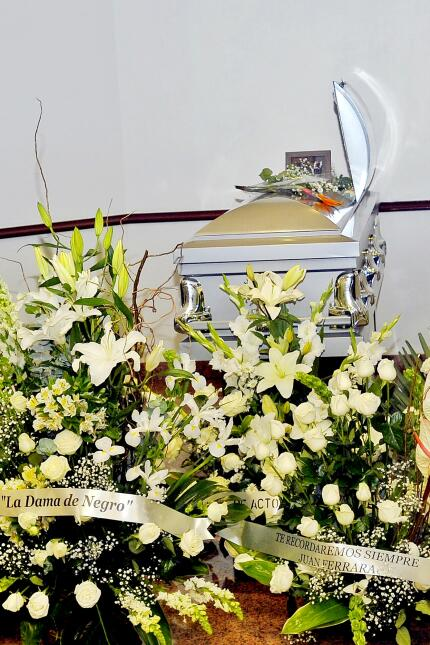 Germán Robles funeral