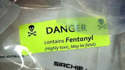 El fentanilo: la potente droga que se propaga en EEUU