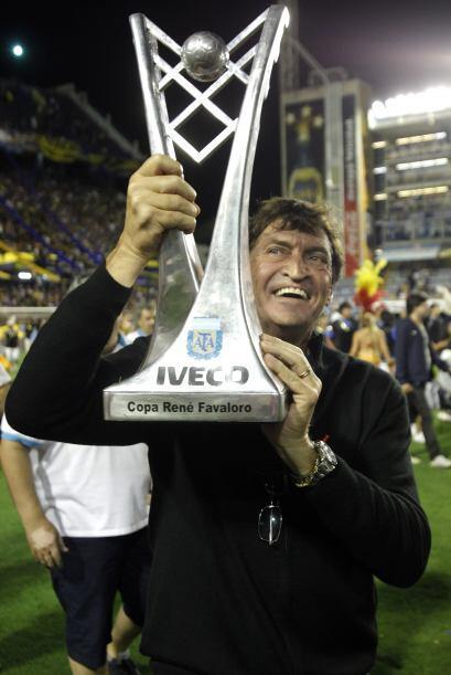Llegó a Boca Juniors en el 2010, pero fue este año que logró consolidar...