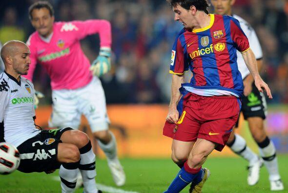 Lionel Messi tuvo pocas claras.