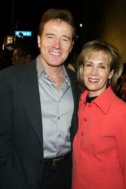 Bryan, aquí con su esposa Robin, ya había actuado en shows como 'Seinfel...