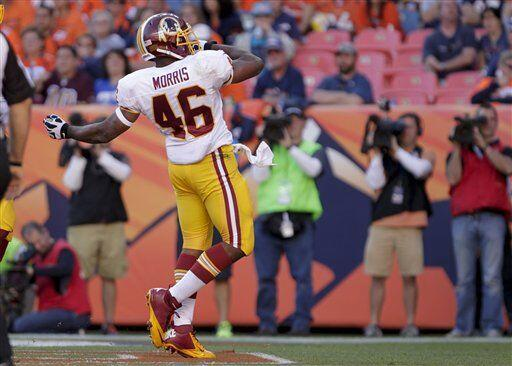 Alfred Morris, corredor de los Washington Redskins (AP-NFL)