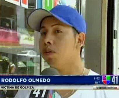 El primer incidente se produjo el 5 de abril contra el mexicano Rodolfo...