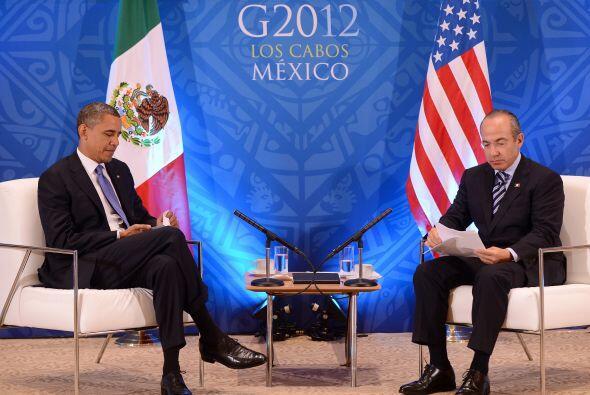 """El presidente de EU, Barack Obama, aseguró que """"el mundo está preocupado..."""