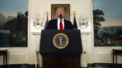 """Trump se queja de la respuesta demócrata: """"Rechazaron mi oferta antes incluso de que hablara"""""""
