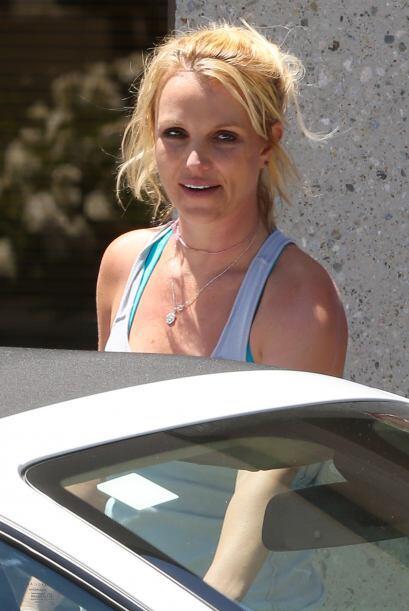 Britney Spears ya no nos sorprende tanto sin maquillaje después de verla...