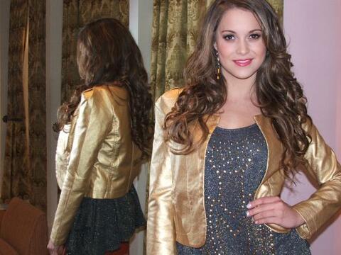 Liggia de Uriarte, representante de Houston a Nuestra Belleza Latina, se...