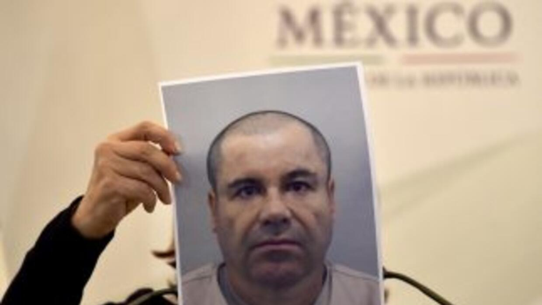 La rueda de prensa posterior a la fuga de El Chapo