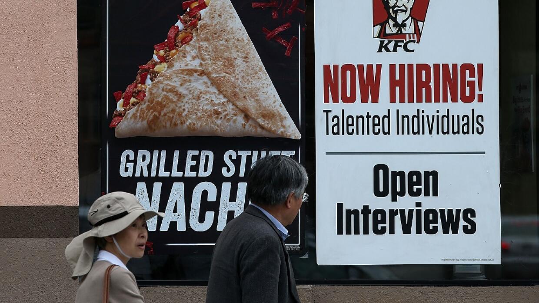 Cartel de desempleo