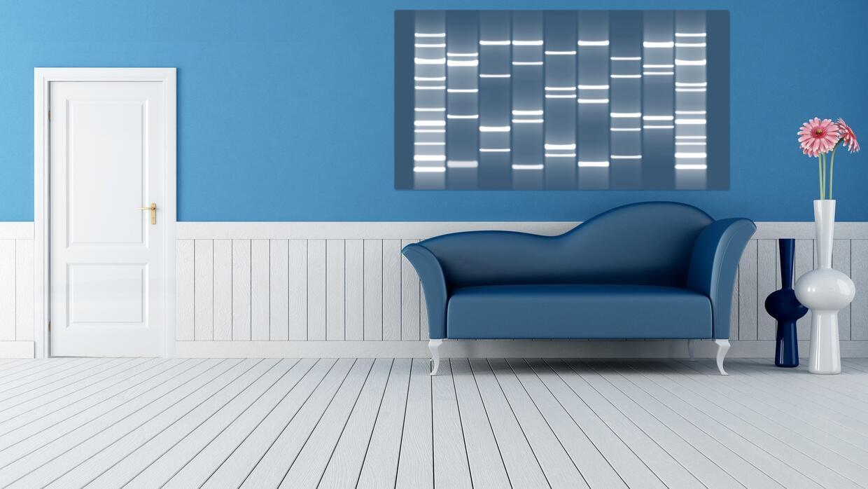 Quienes tengan gustos más 'minimal' pueden preferir un cuadro abstracto.