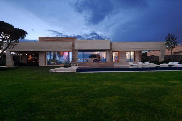 Ésta es la casa que el arquitecto Joaquín Torres hizo para Cristiano Ron...