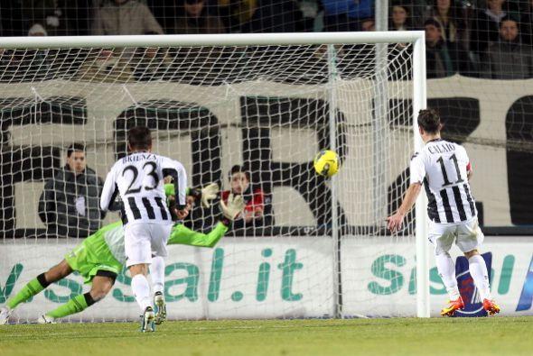 Mattia Destro y Emanuele Calaio anotaron 'dobletes'.
