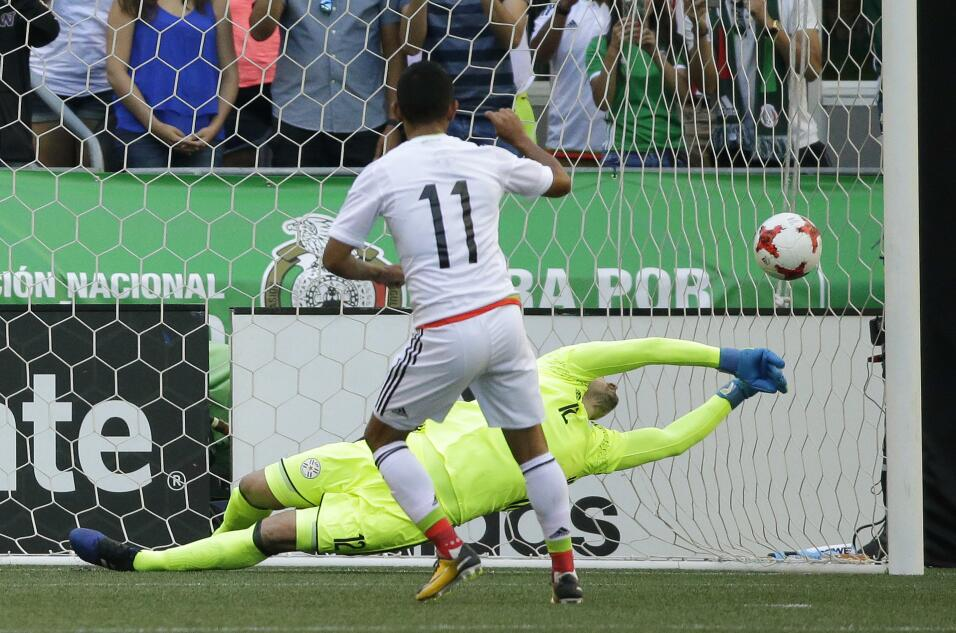 Costoso triunfo de México sobre Paraguay a una semana del debut en Copa...