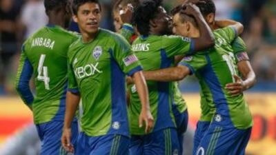 Seattle Sounders termina de primero en la temporada regular.