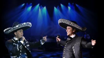 Cristian Castro quiere disco de mariachi con El Potrillo