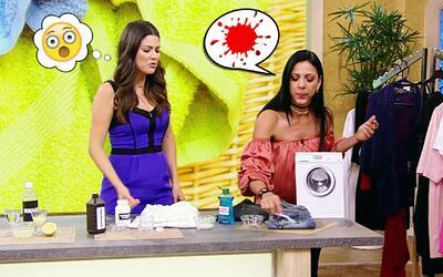 Secretos de limpieza para las manchas más difíciles en la ropa