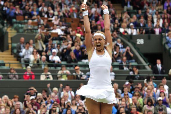 La otra semifinal también quedó lista con el duelo Lisicki vs. Radwanska.