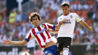 Valencia le pegó al Atlético en Mestalla