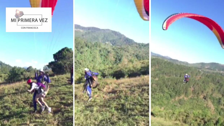Mi primera vez: Francisca volvió a su pueblo y voló como un águila