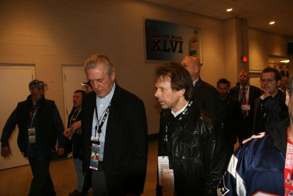 El legendario gerente general del Miami Heat Pat Riley asistió al gran j...