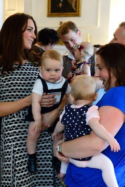 Seguramente la Duquesa de Cambridge quiere tener más hijitos.