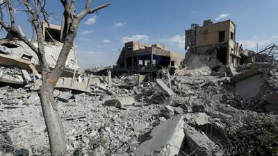 El 60% de la capacidad de Siria para fabricar armas químicas fue destruida, según el Pentágono