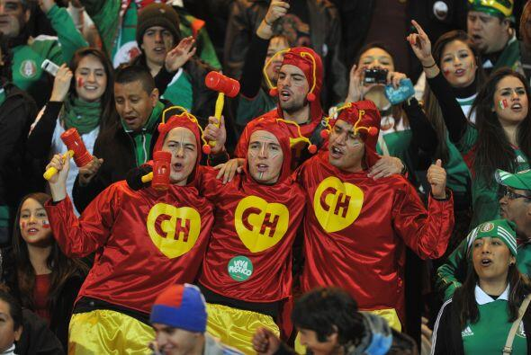 México tenía 3 partidos invictos y sus fanáticos festejaban el buen fútb...