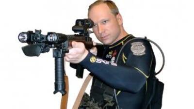 Manifiesto de 1.500 páginas escrito por Anders Behring Breivik, autor co...