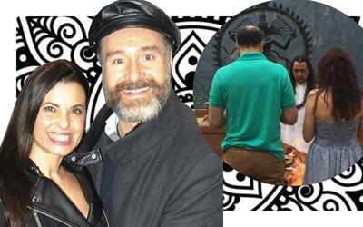 Yolanda Ventura y Odiseo Bichir se casaron en secreto