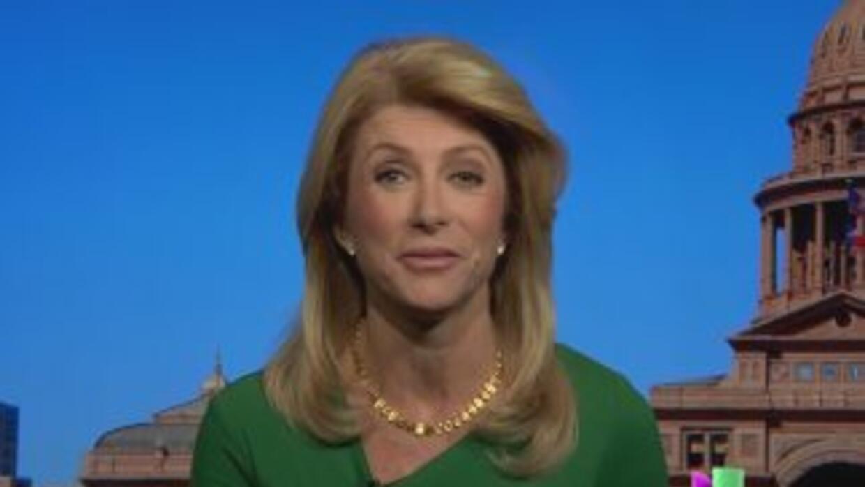 Wendy Davis, la Senadora Estatal demócrata deTexas y Candidata a la Gobe...