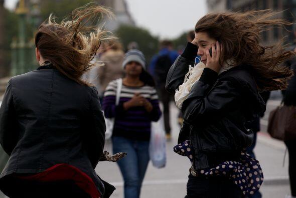El temporal, considerado uno de los peores de los últimos años y que afe...