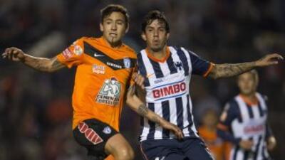 Monterrey vs. Pachuca en Copa MX.