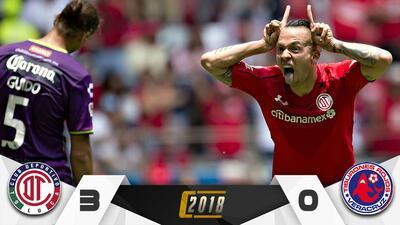 Toluca cerrará el Clausura como líder general tras vencer 3-0 al Veracuz